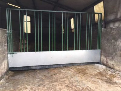 Equine Feed Barrier